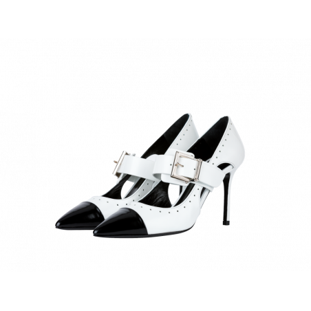 JOH COUTURE CHAUSSURE B&W