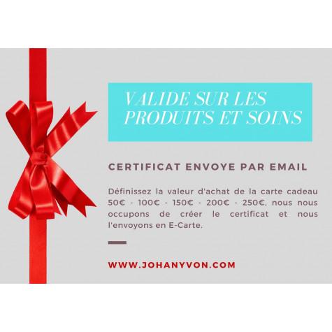 Certificat Cadeau 100€